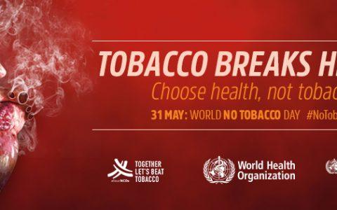 Dia Mundial Sem Tabaco 2018: Tabaco e cardiopatias