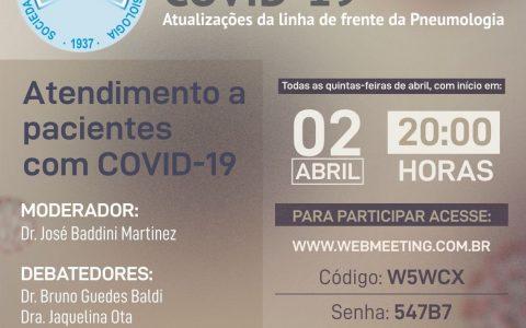 COVID 19 – Debates Interativos