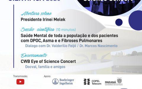 Reunião Magna Científica 2020 APPT: CWB eye of the Science Concert